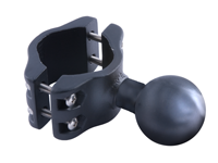 Flex-mount large pipe-clamp